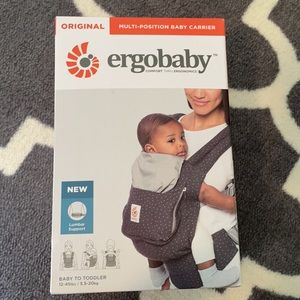 NWT Ergobaby original multi-position baby carrier